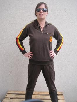 ASK NVA Trainingsanzug Gr. sk 44 Uniform Fasching Karneval sehr klein !!! Kostüm